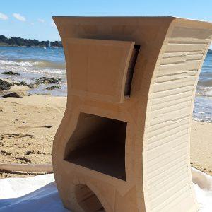 Le gabarit à la plage